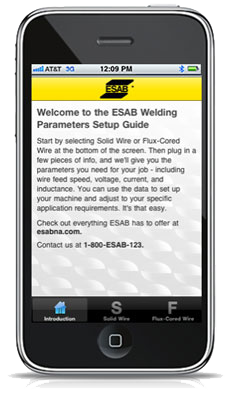 ESAB Welding Parameters Set-up Guide