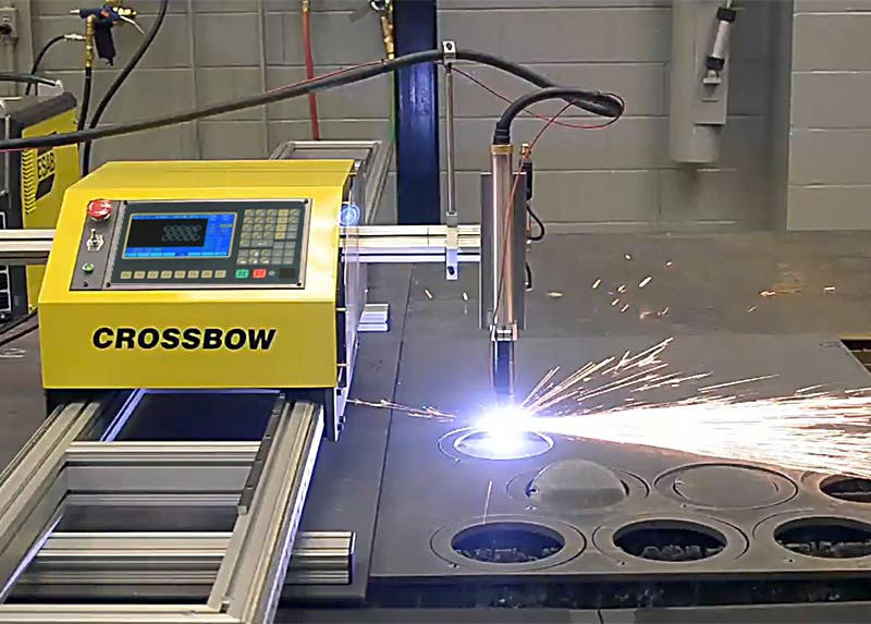 Plasma Cutting Crossbow